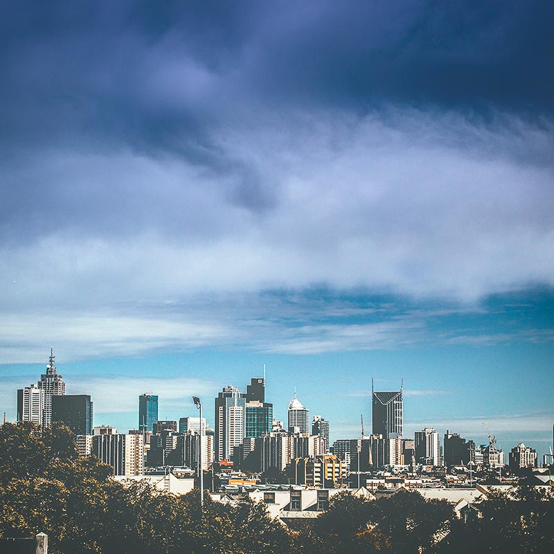 Melbourne-city-skyline