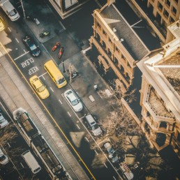 overhead-shot-of-street-traffic